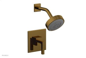 STRIA Pressure Balance Shower Set 291-22 - French Brass Product Image