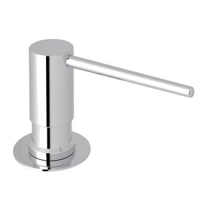 Polished Chrome Dé Lux Soap/Lotion Dispenser with Metal Lever Product Image