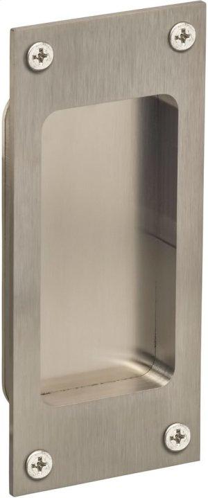 Modern Rectangular Flush Pull in (US32D Satin Stainless Steel) Product Image
