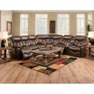 Reclining Console Loveseat Product Image