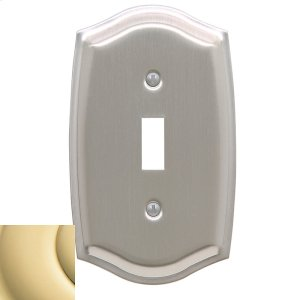 Polished Brass Colonial Single Toggle Product Image