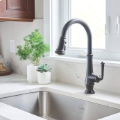 Delancey Pull-Down Kitchen Faucet  American Standard - Legacy Bronze