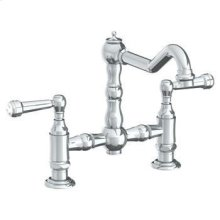 Deck Mounted Bridge Kitchen Faucet