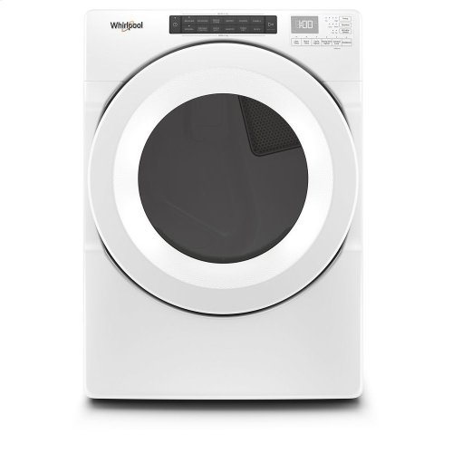 7.4 cu. ft. Front Load Electric Dryer with Intuitive Touch Controls