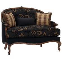 Carved Loveseat
