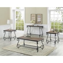 BERNARDS 9646 3P Set Of Three Mira Tables -1 Cocktail & 2 End Tables