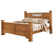 Bittersweet - Light Brown 4 Piece Bed Set (King) Product Image