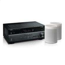 MusicCast RX-V685 Bundle - White 7.2-Channel AV Receiver with MusicCast