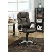 Transitional Dark Brown Office Chair