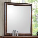 Hillary Warm Brown Dresser Mirror Product Image