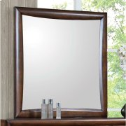 Hillary Warm Brown Dresser Mirror Product Image