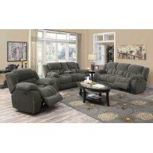 Weissman Grey Reclining Sofa