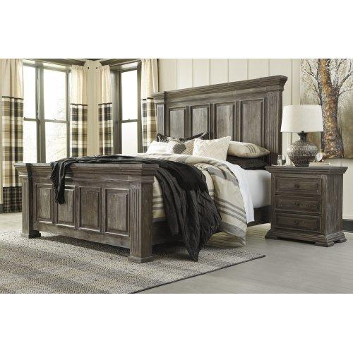 Wyndahl - Rustic Brown 3 Piece Bed Set (King)