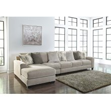Ardsley - Pewter 3 Piece Sectional