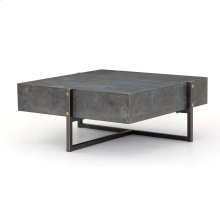 Keppler Square Coffee Table-bluestone