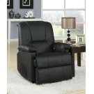 BK PU RECLINER W/LIFT&MASSAGE Product Image