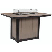 Donoma Rectangular Fire Table Counter