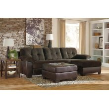 Vanleer Chocolate Chaise Sofa