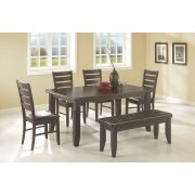 Dalila Casual Cappuccino Five-piece Dining Set Product Image