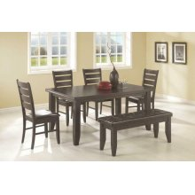 Dalila Casual Cappuccino Five-piece Dining Set