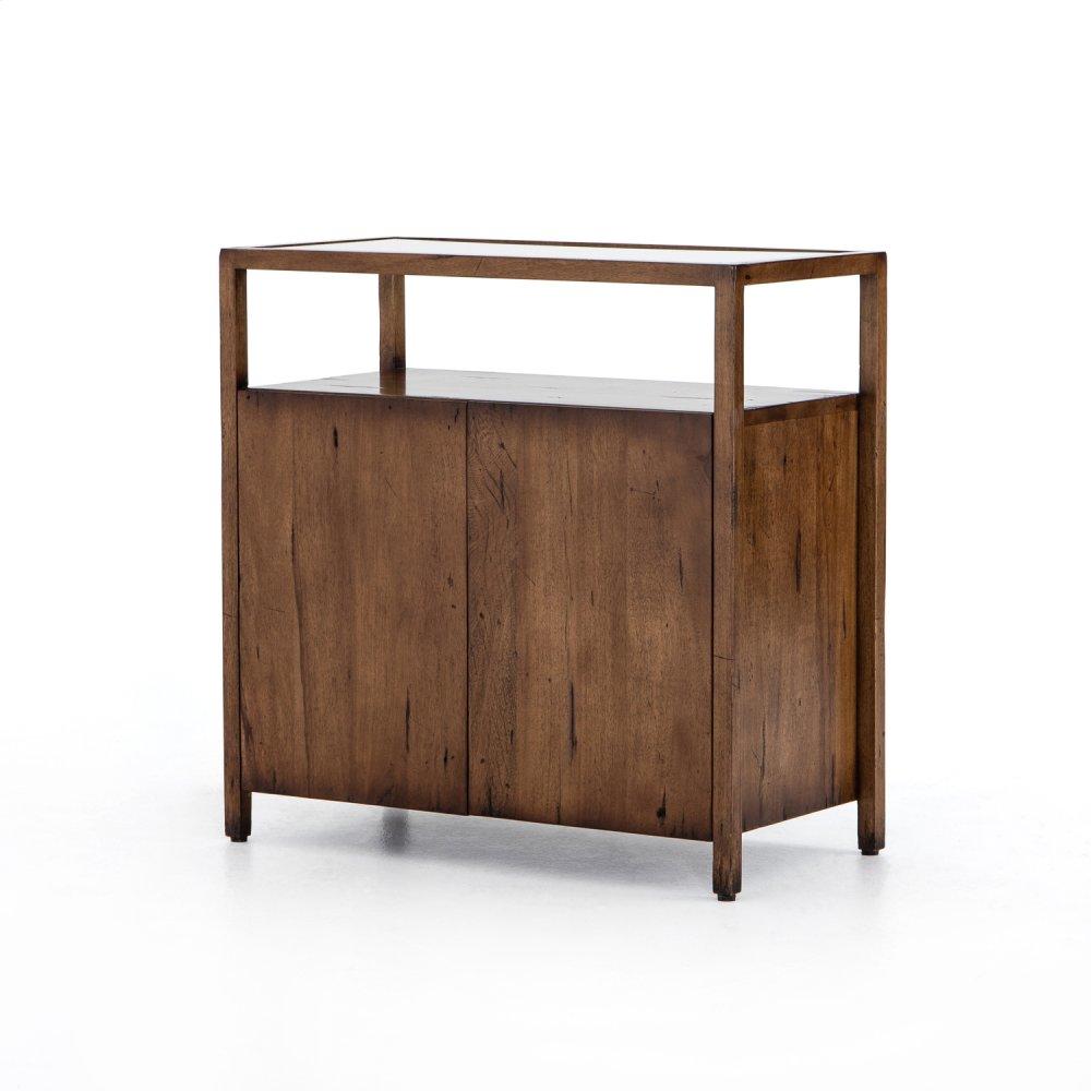 Rodney Bar Cabinet-reclaimed Fruitwood