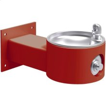 Elkay Outdoor Fountain Wall Mount Non-Filtered, Non-Refrigerated Freeze Resistant Red