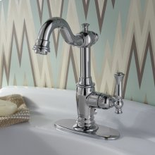 Quentin 1-Handle Monoblock Bathroom Faucet - Polished Chrome
