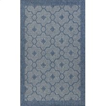 Farmhouse 3203 Blue Mosaic 5' X 7'7""