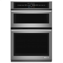 """Euro-Style 30"""" Microwave/Wall Oven with V2 Vertical Dual-Fan Convection System Stainless Steel"""
