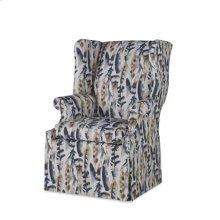 Leo Skirted Wing Chair