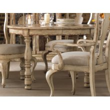 Dining Room Wakefield Round Leg Dining Table w/1-21'' leaf