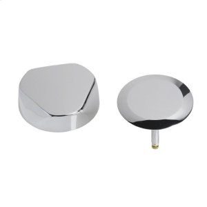 TurnControl Bath Waste and Overflow A dazzling turn Brass - Polished chrome Material - Finish Product Image