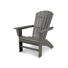 Slate Grey Nautical Curveback Adirondack Chair