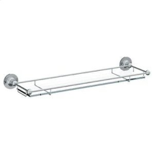"Wall Mounted 24"" Glass Shelf Product Image"