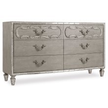 Bedroom Sanctuary Six-Drawer Dresser