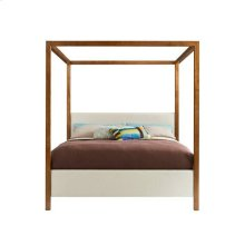 Panavista Archetype Canopy Bed - Goldenrod / Queen