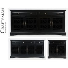 Craftsman Accent Chest - Antique Black