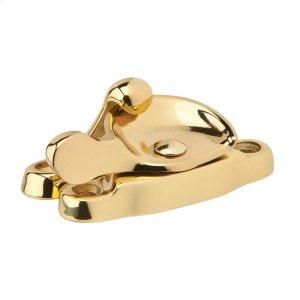 House Accessories  Window Sash Lock - Bright Brass Product Image