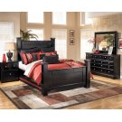 Shay - Almost Black 8 Piece Bedroom Set Product Image