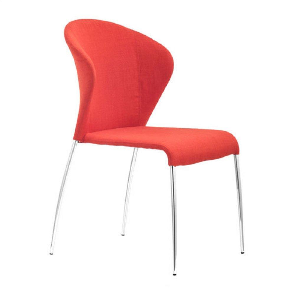 Oulu Dining Chair Tangerine