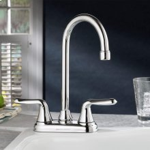 Colony Soft 2-Handle High-Arc Bar Sink Faucet  American Standard - Polished Chrome