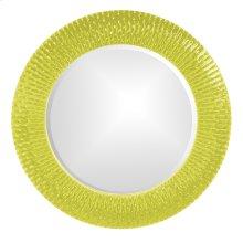 Bergman Mirror - Glossy Green