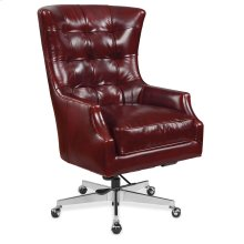 Home Office Keaton Executive Swivel Tilt Chair w/ Metal Base