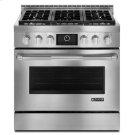 "Pro-Style® 36"" Gas Range with MultiMode® Convection Stainless Steel Product Image"