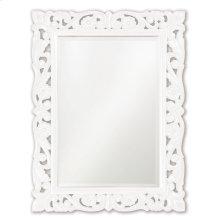 Chateau Mirror - Glossy White