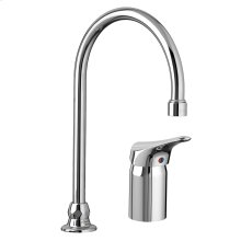 Monterrey Single Control Gooseneck Kitchen Faucet with Remote Valve - Polished Chrome