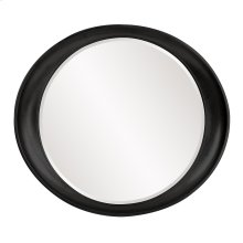 Ellipse Mirror - Glossy Black