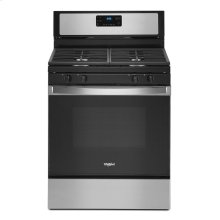 5.0 cu. ft. Whirlpool® gas range with SpeedHeat burner
