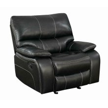Willemse Black Glider Recliner