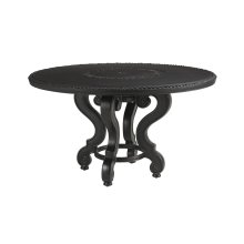 Dining Table W/Cast Top